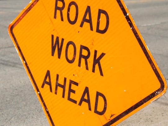 File Image - Road Work Illustration