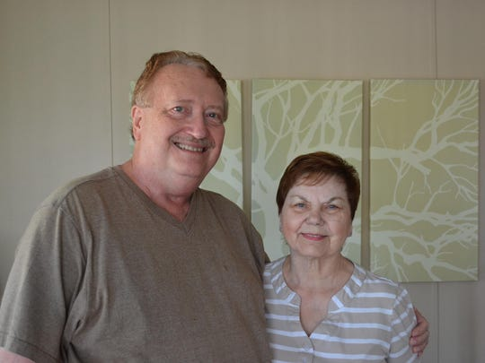 Denny and Marsha Rule visited Brazil twice to visit some of Denny's online English class students, and the couple has hosted several of the international students in their Fremont home.