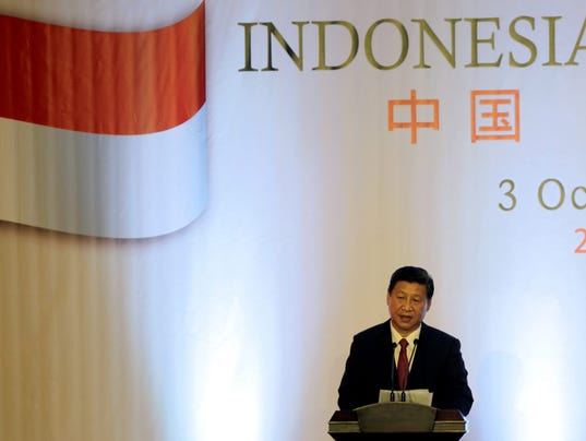 INDONESIA CHINA XI JINPING