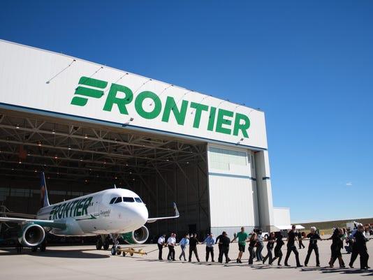 frontier re-brand