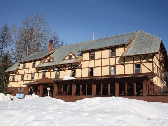 The Izaak Walton Inn is a perfect destination for winter