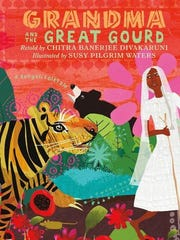 'Grandma and the Great Gourd' retold by Chitra Benerjee Divakarui