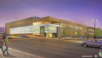 The future Milwaukee Bucks training center will include a Froedtert & Medical College of Wisconsin Sports Science Center.