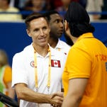 Steve Nash is now the general manager of Canada's national men's team.