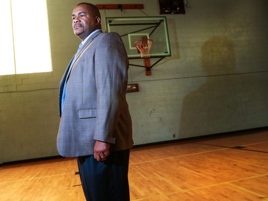 Rev. Gene Williams of St. Paul Baptist Church in Anderson says one way he connects the church with the community is by opening the gymnasium for church activities and basketball.