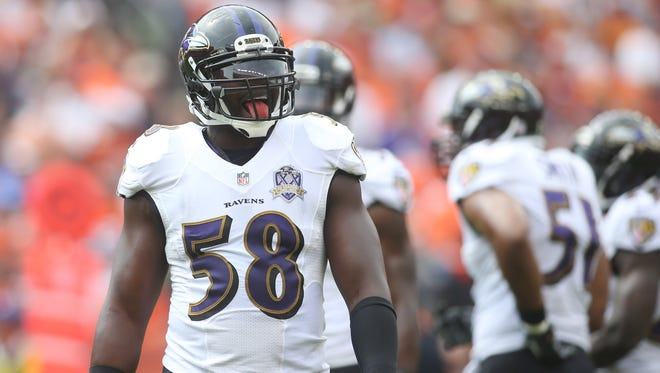 OLB Elvis Dumervil has twice registered 17 sacks in a season.