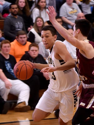 Watkins Memorial senior Tyler Ruff recently was named the Licking County League-Buckeye Division Player of the Year.