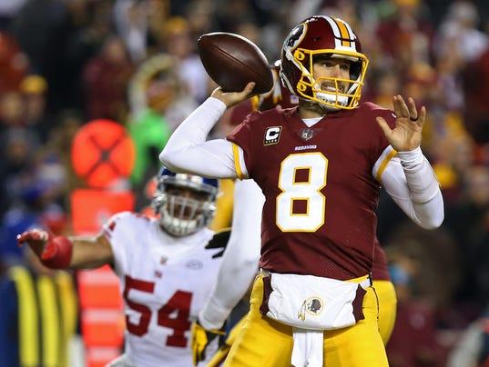 USP NFL: NEW YORK GIANTS AT WASHINGTON REDSKINS S FBN WAS NYG USA MD