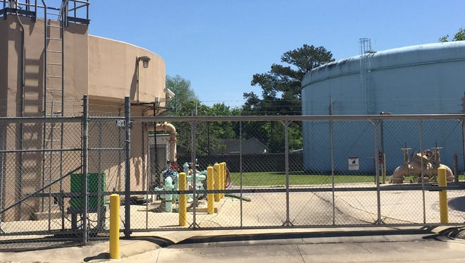 Part of Lafayette gets its drinking water from the LUS North treatment plant near downtown.
