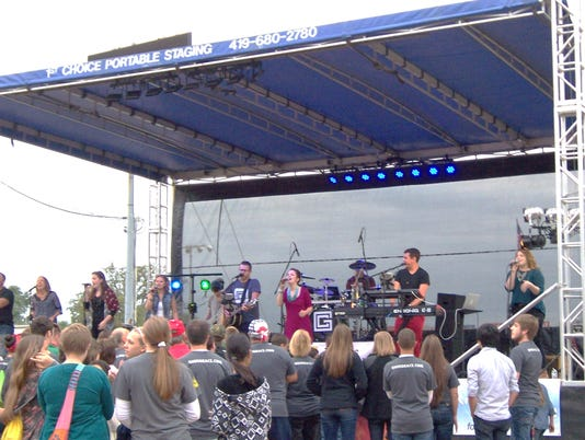 Christian rock concert featured at the fair