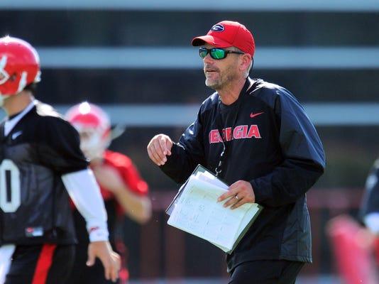 NCAA Football: University of Georgia-Practice