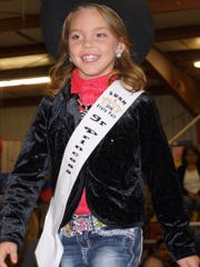 Kiley Ziller, 7, is your 2016 Southwestern New Mexico State Fair Junior Princess.