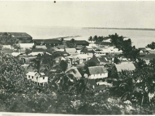 Sumay village, pre-war.