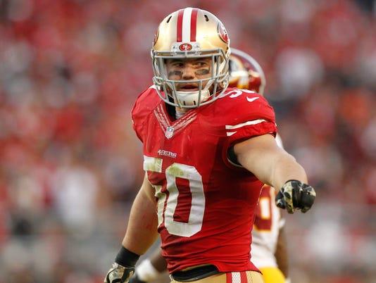 USP NFL: WASHINGTON REDSKINS AT SAN FRANCISCO 49ER S FBN USA CA