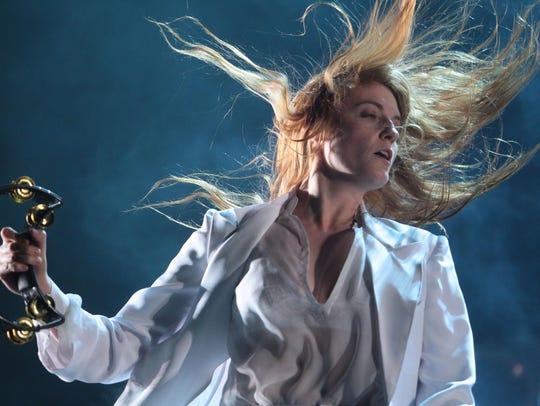 Florence and the Machine performs during the first