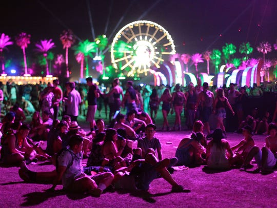 Music lovers attend the first weekend of the Coachella