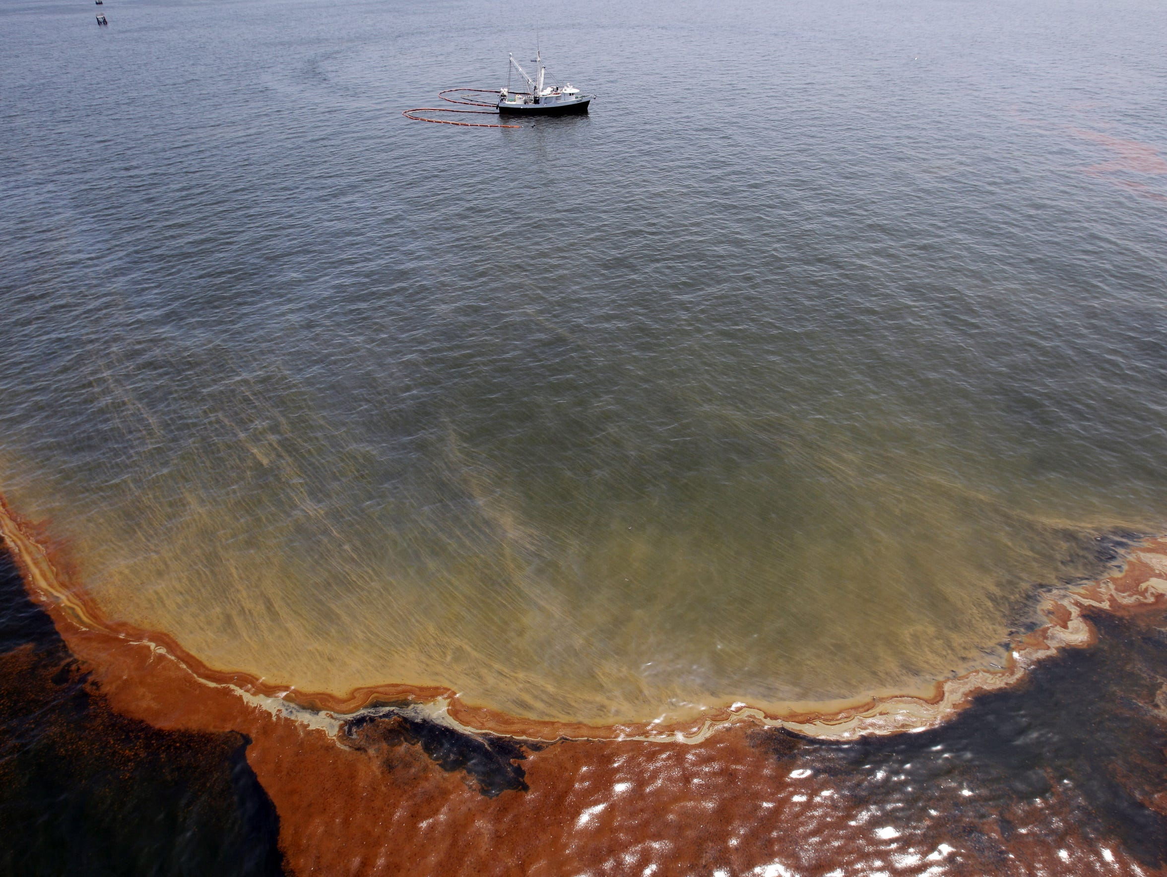 63 percent of oil spill economic claims complete.