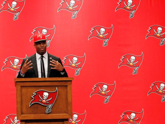 NFL: Tampa Bay Buccaneers-Press Conference