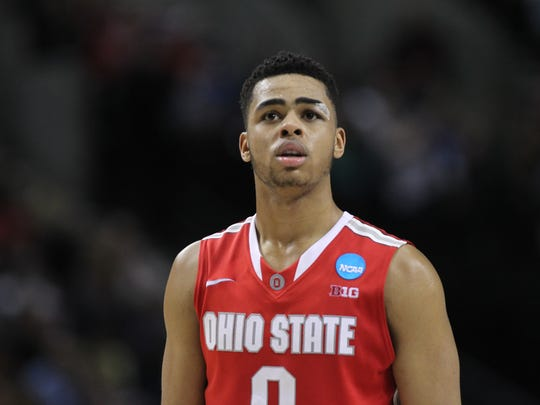 Ohio State's D'Angelo Russell.