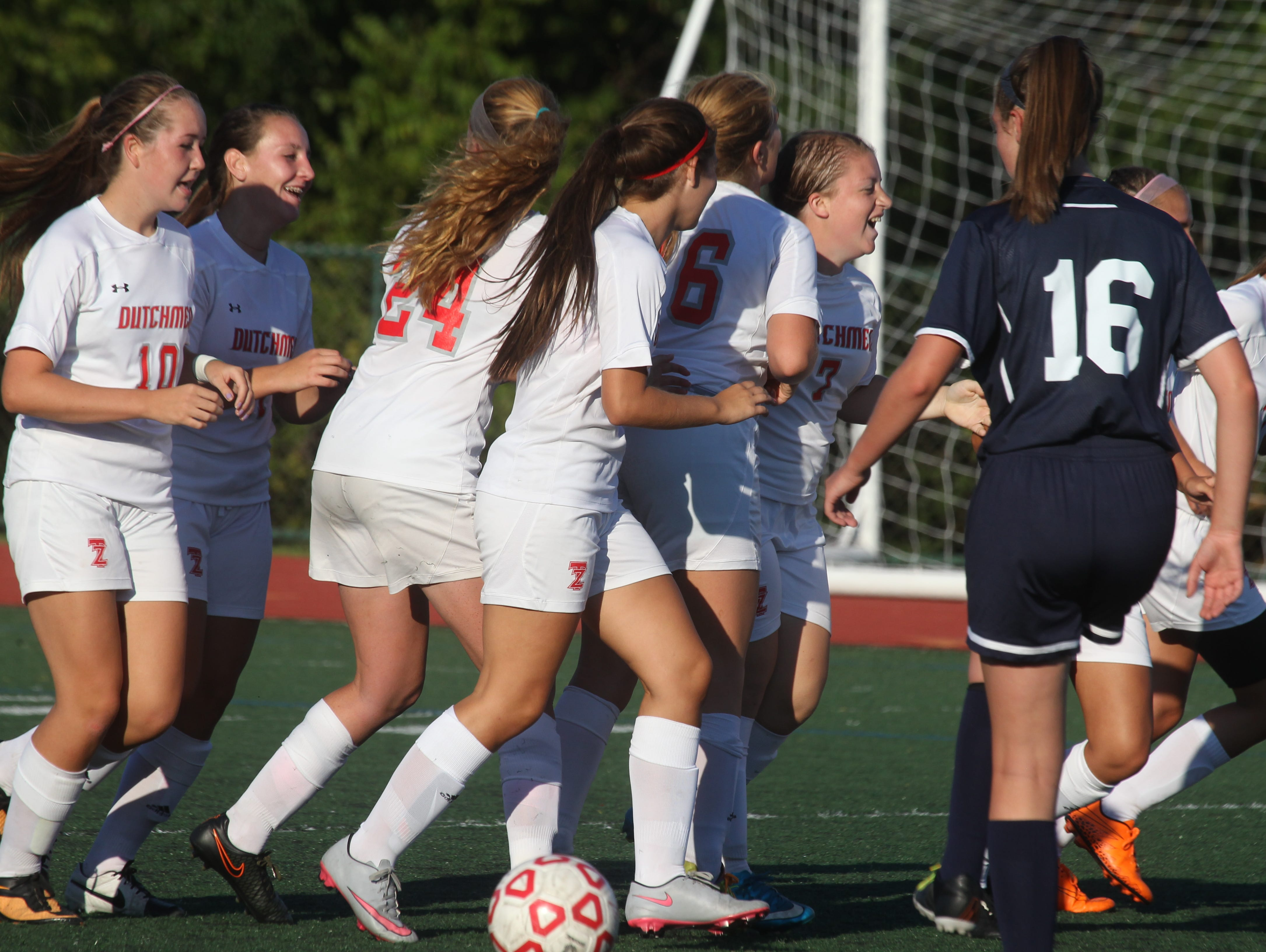 Tappan Zee soccer beat Eastchester 1-0 at Tappan Zee Sept. 15, 2015.