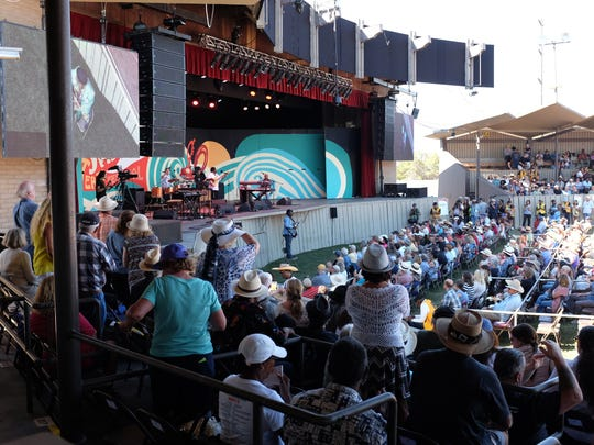 Lucky Peterson in performance on Saturday afternoon. Despite soaring daytime temperatures, music fans flocked to the 58th annual Monterey Jazz Festival on Saturday.