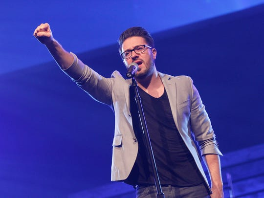 "Christian musician Danny Gokey, a native of Milwaukee and former ""American Idol"" finalist, will perform Friday night at St. Mark Lutheran Church in De Pere."