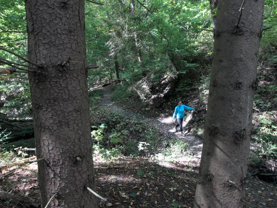 Outdoors writer Victoria Freile hits the trails for