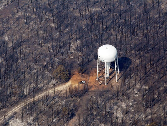Texas Wildfires-Growing Threat