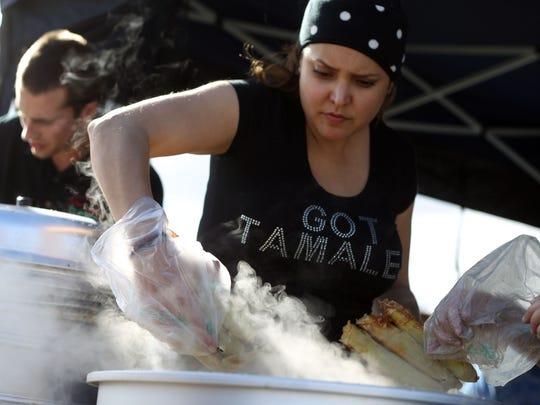 Marisol Ortega with Me Gusta Gourmet Tamales in Pacoima