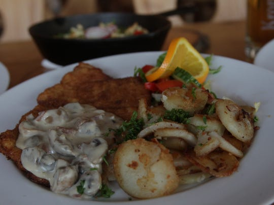 Schnitzelhaus Homemade Bavarian Kitchen offers authentic Bavarian cuisine in Palm Desert. The restaurant is filled with original German furniture that gives the space an authentic feel.