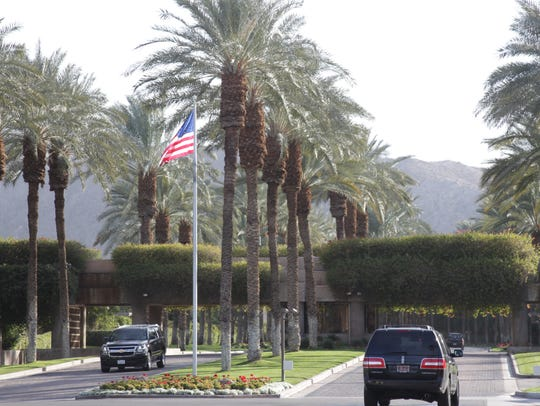 Peter Pocklington once owned a home in the Vintage Club, an elite community in Indian Wells, photographed here in a Desert Sun file photo.