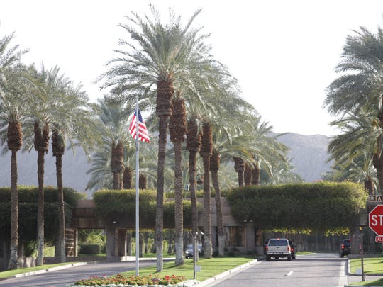 Charles Koch owns a home in the Vintage Club, photographed here, an elite gated community in Indian Wells.
