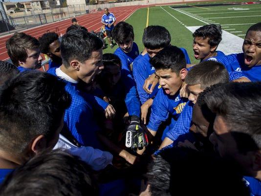 Division IV boys soccer state championship