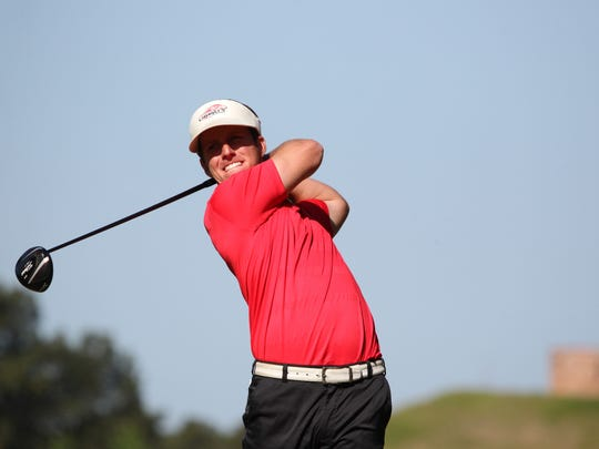 Chase Marinell tied for second with a 7-under 133.