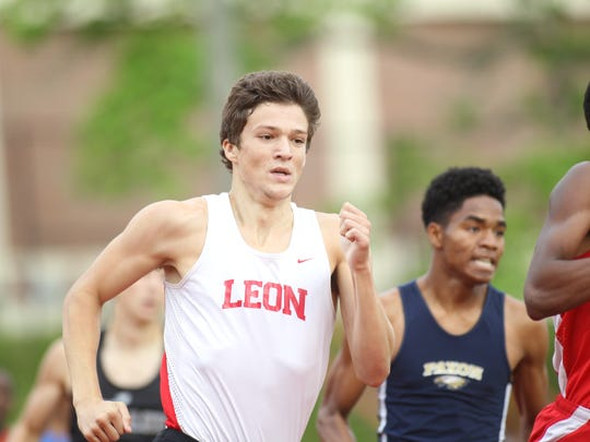 Needing to overcome sickness, Leon senior Adam Wallenfelsz went from the back of the pack in his 800 race to finish as region runner up, qualifying him for the state meet for the first time as an individual.
