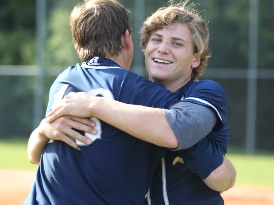 In a Region 1-3A baseball final, visiting Maclay and NFC battled for 8 innings before the Marauders pushed a run across. It was enough for Maclay and ace Max McKinley to beat NFC and ace Cole Ragans, 1-0. Both pitchers threw all eight innings. Maclay now goes to state for the first time since 1993.