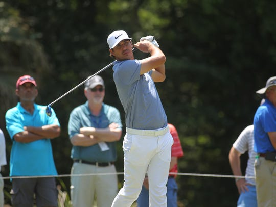 Former FSU golfer Brooks Koepka is tied for seventh