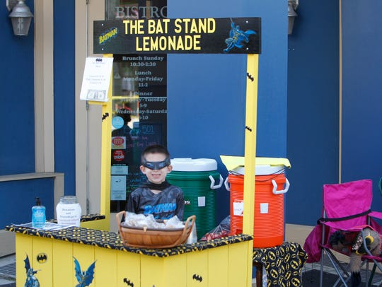 Young entrepreneurs participated Saturday in Lemonade