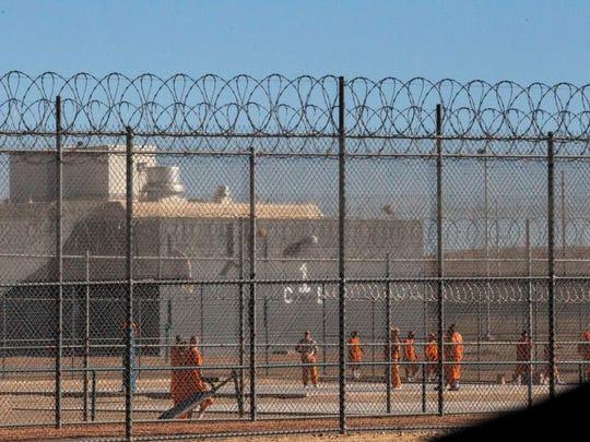 Arizona's Lewis Prison Complex in Buckeye.