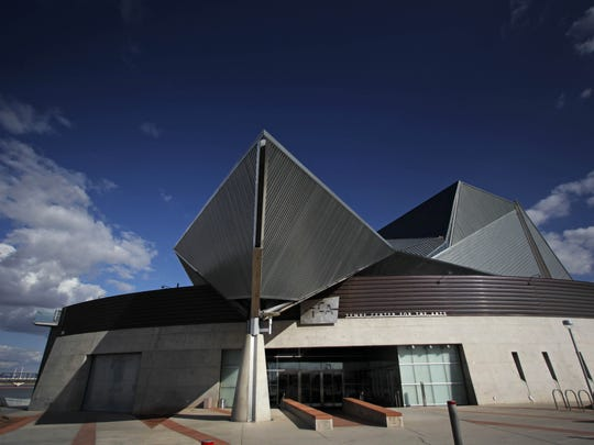 The Tempe Center for the Arts is located on the south