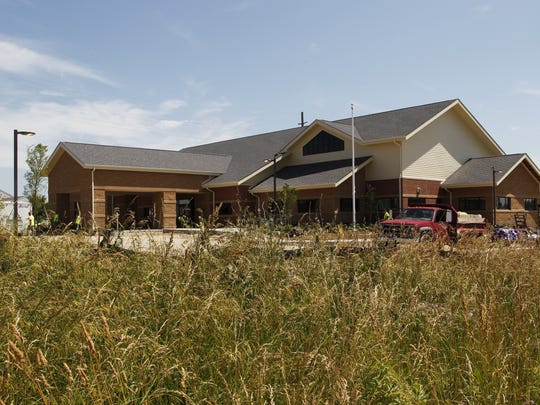 The newest Tippecanoe County Public Library is nearly finished with basic landscaping and details to be finished on the inside.