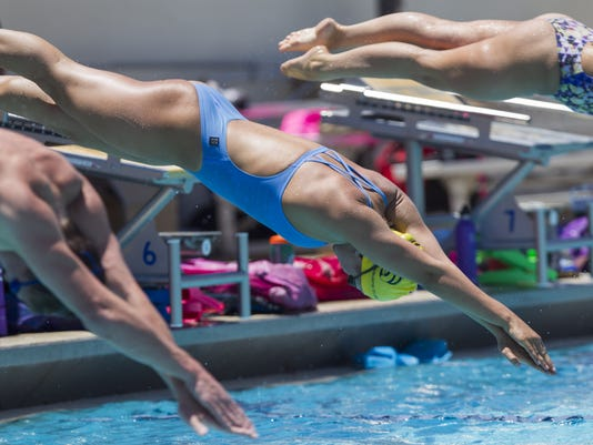 U.S. Olympic Trials swimmers