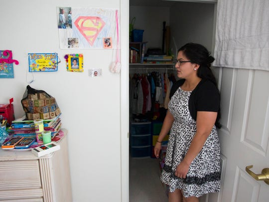 Sandra Godinez gives a tour of her Phoenix apartment