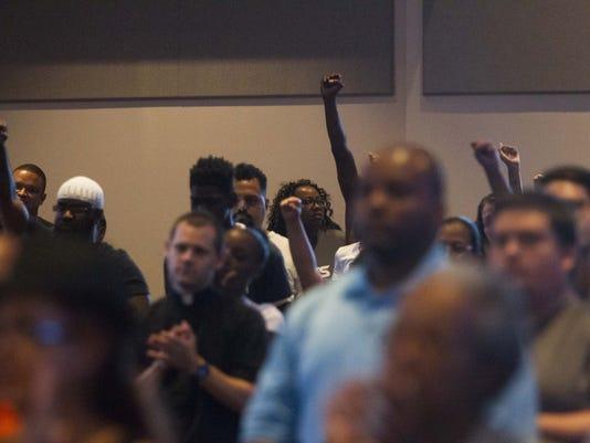 Sterling-Castile shootings rally