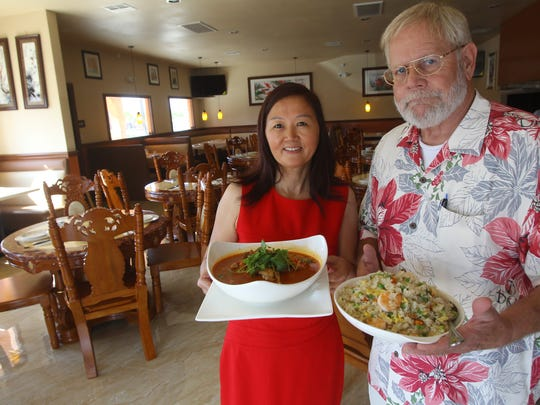CIE Sichuan Cuisine owners, from left,  Xuemei Cheng and Brett Bennett offer authentic Sichuan province cuisine including duck, frog and other specialties.