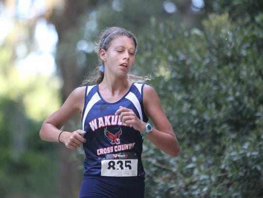 Wakulla's Haleigh Martin finished second at the Cougar