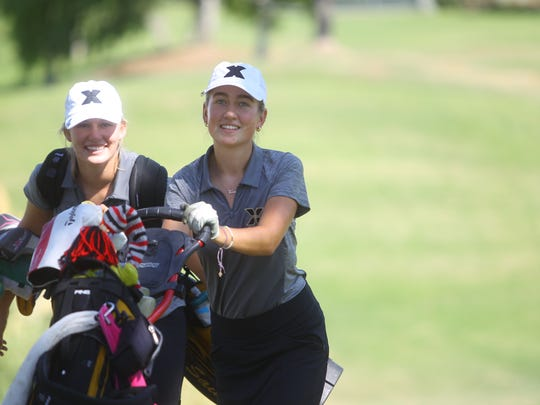 Russian Vera Markevich has helped Xavier Preparatory become a girls golf contender in the Coachella Valley in the last two years.