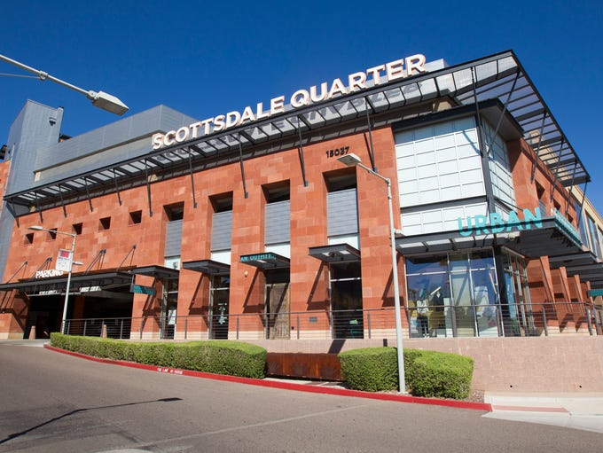 The Scottsdale Quarter shopping mall is preparing to