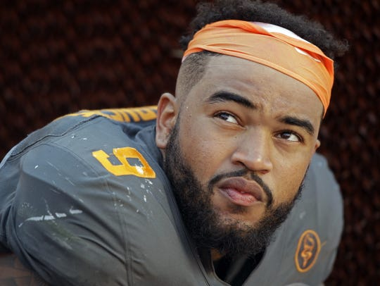 Derek Barnett's Music City Bowl sack was the 32nd of his career, breaking the school record at Tennessee.