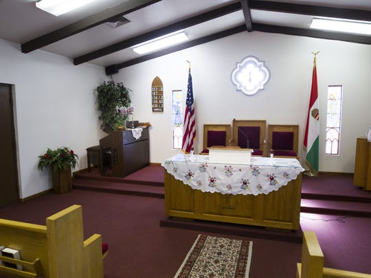 The interior of the Hungarian Reformed Church in Phoenix is pictured on Friday, Oct. 14, 2016. Monday, Oct. 24, marks the 60th anniversary of the failed Hungarian uprising against the Soviet Union in 1956.